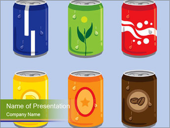 Soft Drink PowerPoint Template