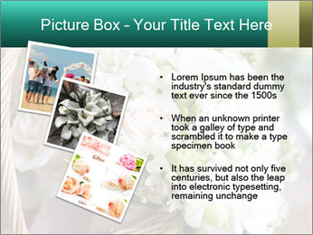 Wedding bouquet PowerPoint Template - Slide 17