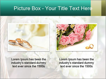 Wedding bouquet PowerPoint Template - Slide 18