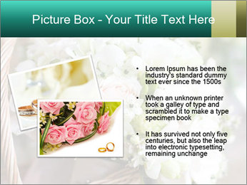Wedding bouquet PowerPoint Template - Slide 20