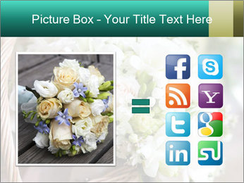 Wedding bouquet PowerPoint Template - Slide 21