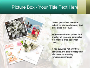 Wedding bouquet PowerPoint Template - Slide 23