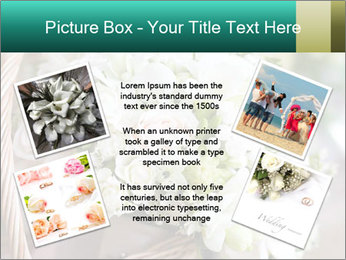 Wedding bouquet PowerPoint Template - Slide 24