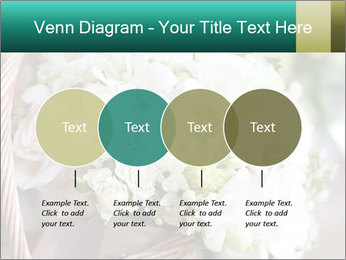 Wedding bouquet PowerPoint Template - Slide 32