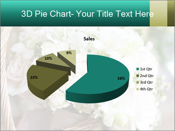 Wedding bouquet PowerPoint Template - Slide 35