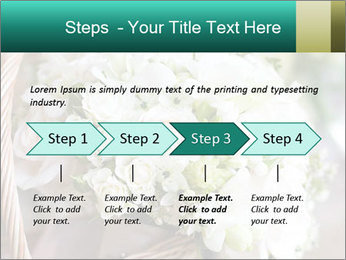 Wedding bouquet PowerPoint Template - Slide 4