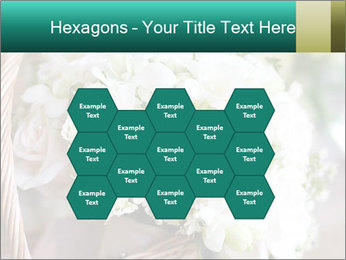 Wedding bouquet PowerPoint Template - Slide 44