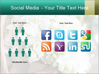 Wedding bouquet PowerPoint Template - Slide 5