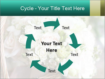 Wedding bouquet PowerPoint Template - Slide 62