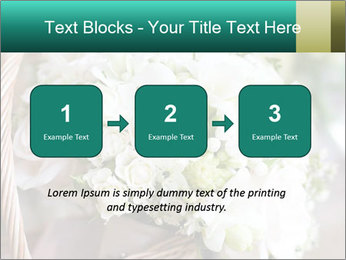 Wedding bouquet PowerPoint Template - Slide 71
