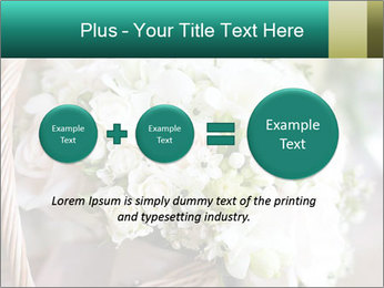 Wedding bouquet PowerPoint Template - Slide 75