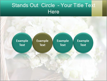 Wedding bouquet PowerPoint Template - Slide 76