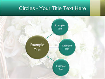 Wedding bouquet PowerPoint Template - Slide 79