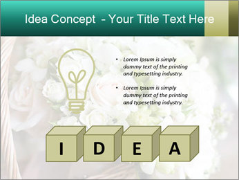 Wedding bouquet PowerPoint Template - Slide 80