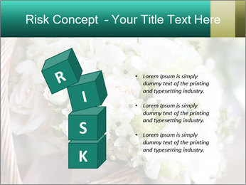 Wedding bouquet PowerPoint Template - Slide 81