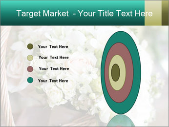 Wedding bouquet PowerPoint Template - Slide 84
