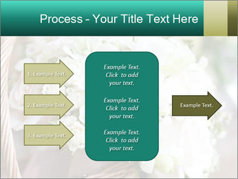 Wedding bouquet PowerPoint Template - Slide 85