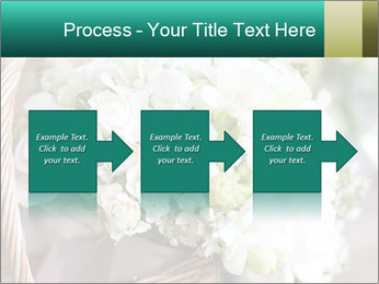 Wedding bouquet PowerPoint Template - Slide 88