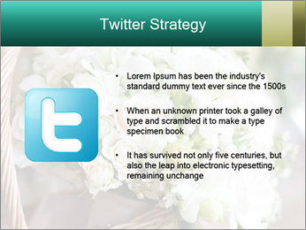Wedding bouquet PowerPoint Template - Slide 9