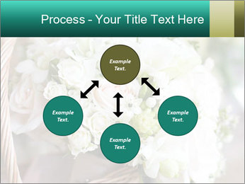 Wedding bouquet PowerPoint Template - Slide 91