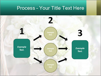 Wedding bouquet PowerPoint Template - Slide 92
