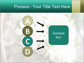 Wedding bouquet PowerPoint Template - Slide 94