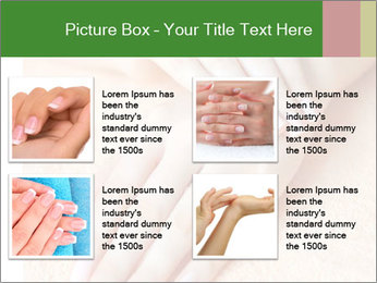 Beautiful woman hands PowerPoint Template - Slide 14