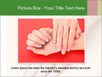 Beautiful woman hands PowerPoint Template - Slide 16
