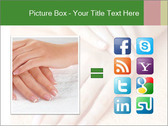 Beautiful woman hands PowerPoint Template - Slide 21