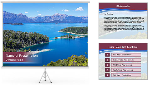 Victoria Island PowerPoint Template