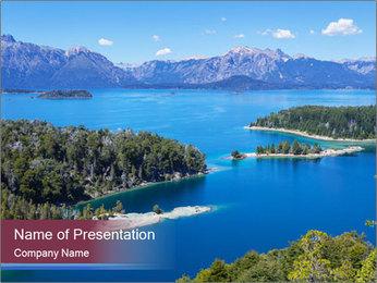 Victoria Island PowerPoint Template - Slide 1