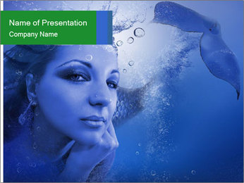 Water Miss PowerPoint Template - Slide 1