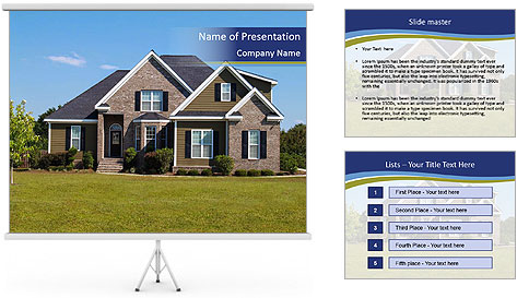 Big House PowerPoint Template