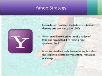 Woman's legs PowerPoint Template - Slide 11