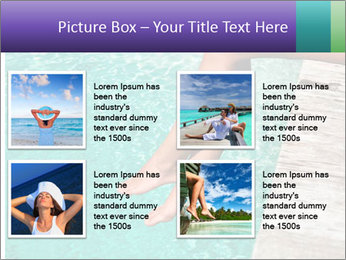 Woman's legs PowerPoint Template - Slide 14
