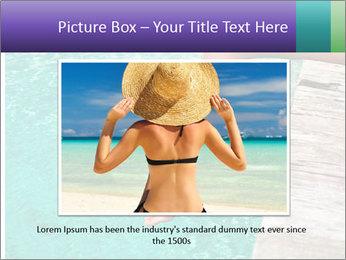 Woman's legs PowerPoint Template - Slide 15