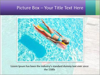 Woman's legs PowerPoint Template - Slide 16