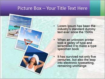 Woman's legs PowerPoint Template - Slide 17