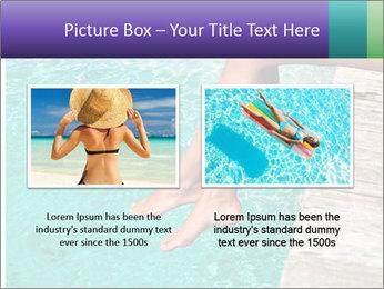 Woman's legs PowerPoint Template - Slide 18