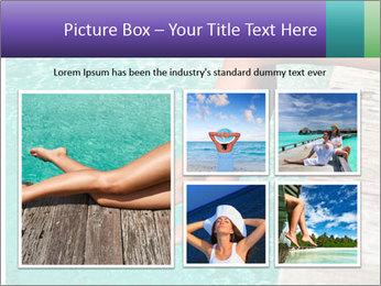 Woman's legs PowerPoint Template - Slide 19