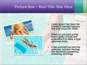 Woman's legs PowerPoint Template - Slide 20
