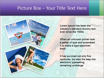 Woman's legs PowerPoint Template - Slide 23