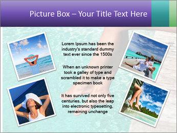 Woman's legs PowerPoint Template - Slide 24