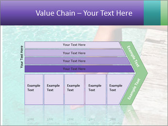 Woman's legs PowerPoint Template - Slide 27