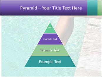 Woman's legs PowerPoint Template - Slide 30