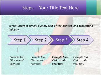 Woman's legs PowerPoint Template - Slide 4