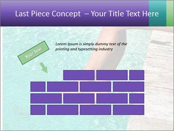 Woman's legs PowerPoint Template - Slide 46
