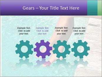 Woman's legs PowerPoint Template - Slide 48
