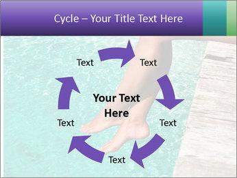 Woman's legs PowerPoint Template - Slide 62