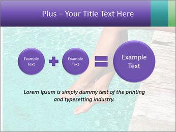 Woman's legs PowerPoint Template - Slide 75